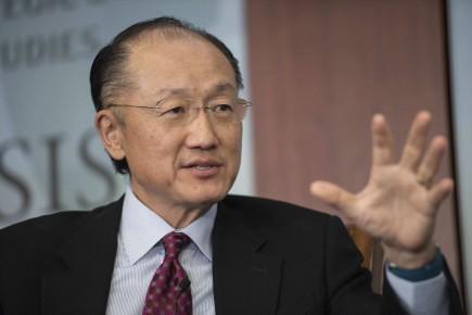 Jim Yong Kim estprésidentde la Banque mondialedepuis 2012.