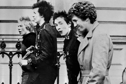 Les Sex Pistols: Paul Cook, Sid Vicious, Johnny... (Archives AFP)