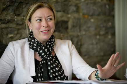 La ministre québécois du Travail Dominique Vien
