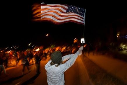 Plusieurs manifestations ont eu lieu aux États-Unis après... (Photo AP)