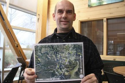 Robin Tremblay, un sylviculteur et propriétaire forestier du... (Photo Le Quotidien, Yohann Gasse)