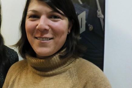 Marie-Élaine Riou, directrice générale du festiva Regard... (Archives Le Quotidien, Yohann Gasse)