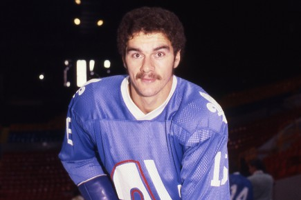 Michel Goulet, en 1979, dans l'uniforme des Nordiques... (Archives La Presse)