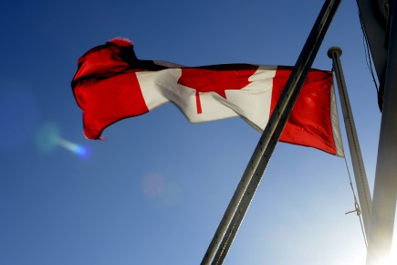 Un drapeau du Canada... (Archives La Presse)