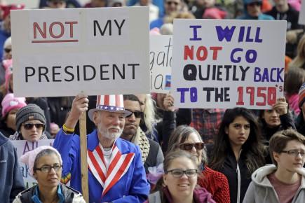 Journée «pas mon président»