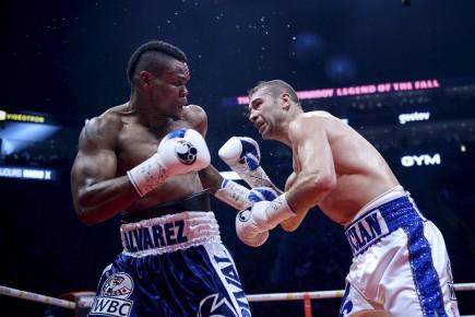 Gala de boxe Bute-Alvarez