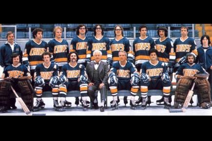 Photo de groupe de l'équipe des Chiefs de... (Archives La Presse, Kings Road Entertainment)