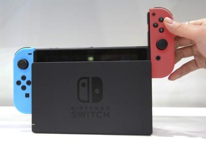 La Nintendo Switch... (Photo Koji Sasahara, archives Associated Press)