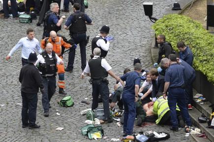 L'attentat de Londres en images