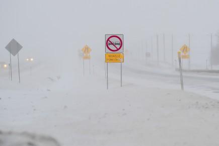 CHRONIQUE / Quand il y a une tempête de neige, un blizzard soudain ou annoncé... (Archives Le Quotidien, Gimmy Desbiens)