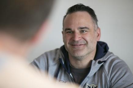 entrevue avec l'entraineur chef du Phoenix de Sherbrooke, Stéph
