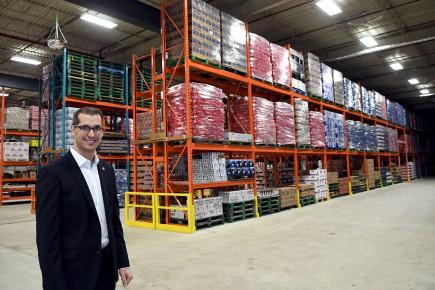 Jean Gagnon, vice-président aux affaires corporatives Québec chez... (Le Progrès-Dimanche, Rocket Lavoie)