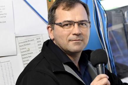 Marc Langlois, l'annonceur maison des Sags depuis 29... (Le Quotidien, Rocket Lavoie)