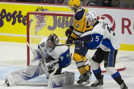 L'équipe de Saint John a beaucoup déçu les... (Archives Presse Canadienne)