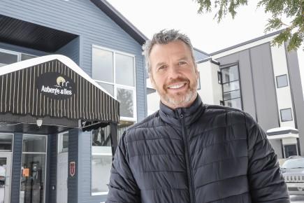 Le président de Tourisme Saguenay-Lac-Saint-Jean, Éric Larouche... (Archives Le Quotidien, Gimmy Desbiens)