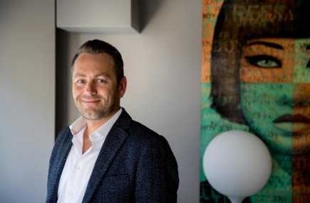Maxime Rémillard, président et chef de la direction de Groupe V Média et de Remstar