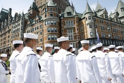 Rendez-vous 2017: les marins paradent en ville
