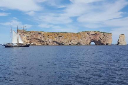 Les grands voiliers ont offert un merveilleux spectacle... (Le Progrès, Patricia Rainville)