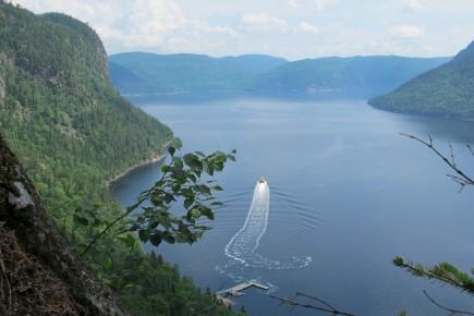 Lors d'une croisière sur le fjord du Saguenay,... (Archives Le Quotidien)