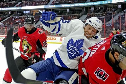 Les Sénateurs renversent les Leafs 6 à 2