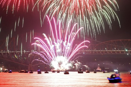 Célébrations des 100 ans du pont de Québec