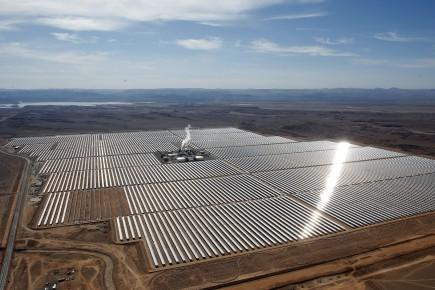 Morocco Solar Plant