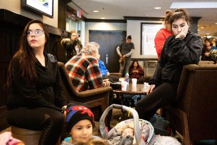 Scheer interpellé par des sinistrés autochtones au Manitoba