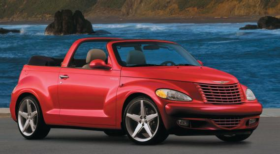 chrysler pt cruiser le cabriolet r tro ric descarries actualit s. Black Bedroom Furniture Sets. Home Design Ideas