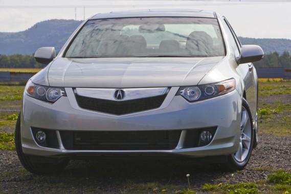 L'Acura TSX 2009.