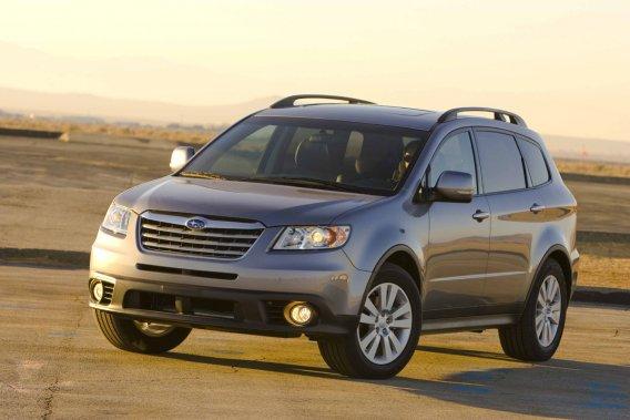 Le Subaru Tribeca.