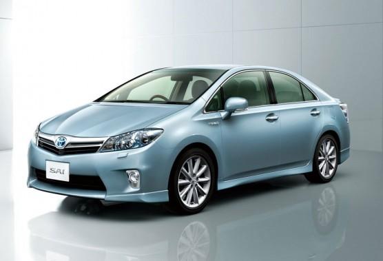 La Toyota Sai, dévoilée au dernier Salon de Tokyo.