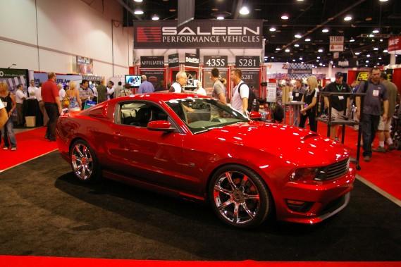 La Saleen S281 2010, construite à partir d'une Ford Mustang.