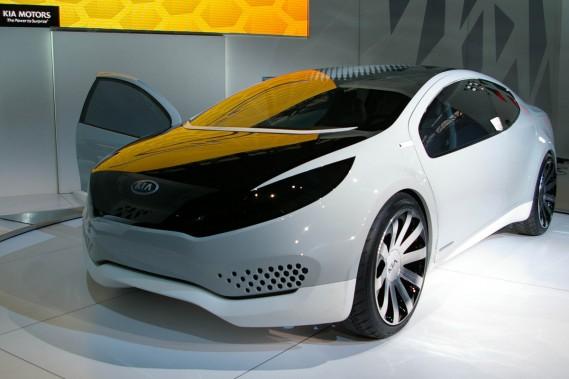 Le constructeur coréen Kia a choisi le Salon de l'auto de Chicago pour dévoiler son étude de style Ray.