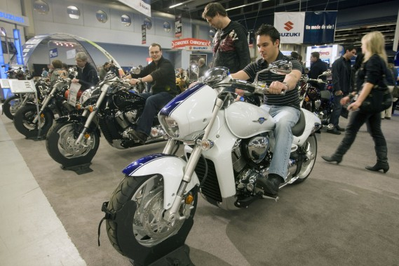 Le salon de montr al pr t rebondir pierre marc - Salon de moto montreal ...