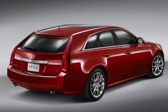 La Cadillac CTS-V Sportwagon.