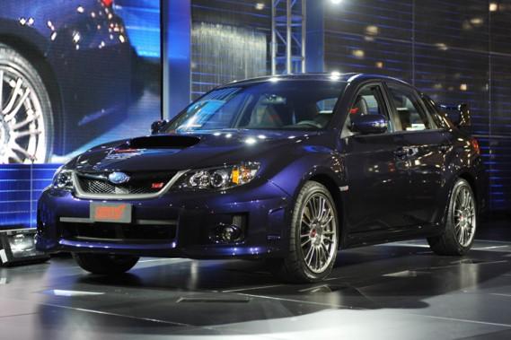 Subaru a dévoilé sa nouvelle WRX STi au Salon de l'auto de New York.