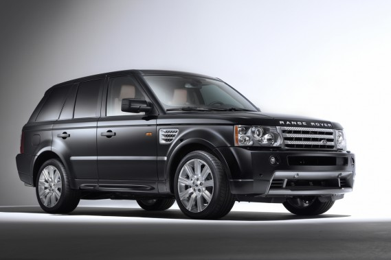 Le Range Rover Sport.