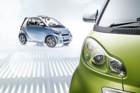 La Smart ForTwo offre quelques retouches mineures pour 2011.