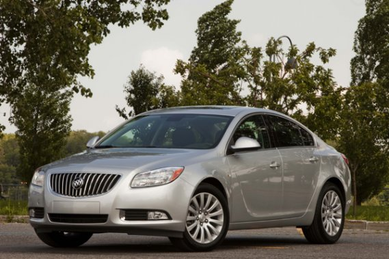 La Buick Regal 2011.