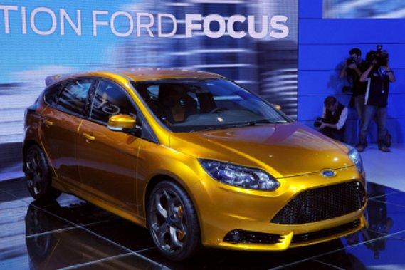 Ford a dévoilé officiellement sa nouvelle Focus ST, jeudi à Paris.