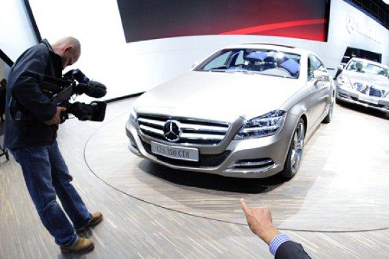 Mercedes a présenté sa nouvelle CLS au Mondial de l'auto de Paris, en octobre.