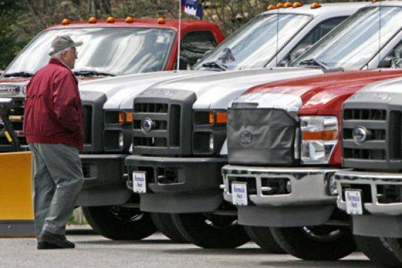 Les ventes du Ford F-150 ont presque doublé de septembre 2009 à septembre 2010.