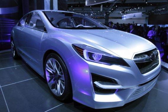 Le concept Subaru Impreza dévoilé au Salon de l'auto de Los Angeles.