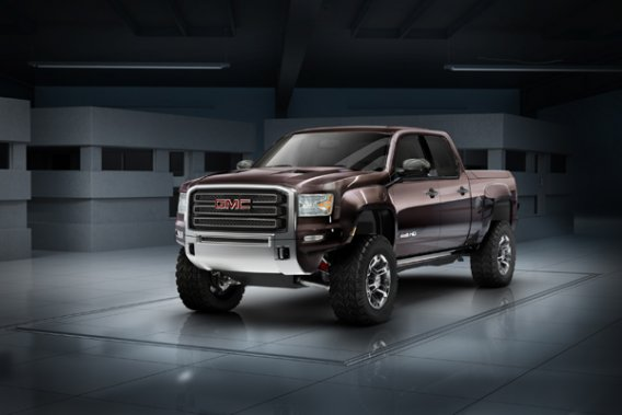 Le GMC Sierra All Terrain 2011.