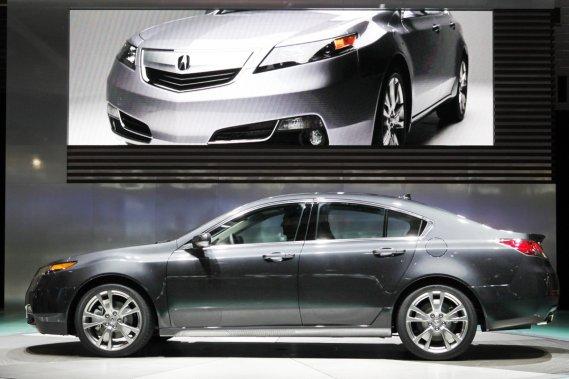 L'Acura TL 2012.