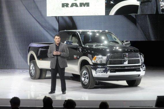 Fred Diaz, directeur de la marque Ram Trucks, a présenté le nouveau moteur Cummins qu récent salon de l'auto de Chicago.