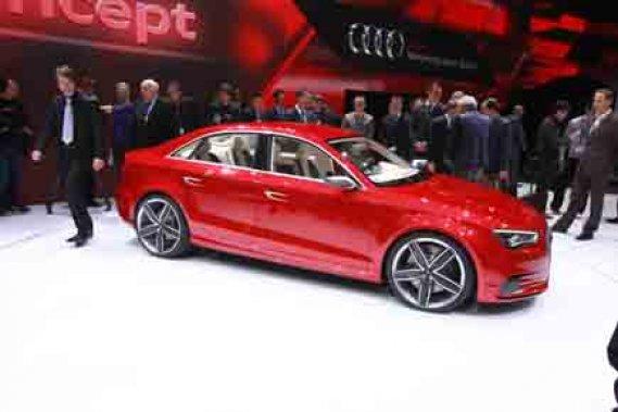 L'Audi A3 Concept.