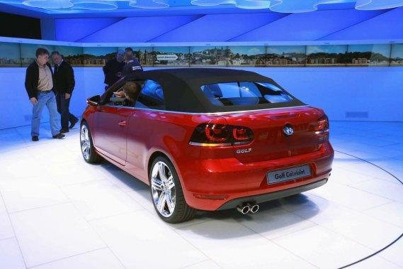 Dommage, la Volkswagen Golf Cabriolet ne sera pas vendue en Amérique du Nord.