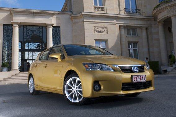 Un nouveau multisegment compact de Lexus pourrait être basé sur l'actuelle CT200h.