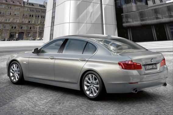 La BMW 535 Li.